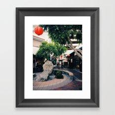 Little Tokyo Framed Art Print