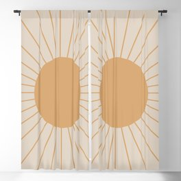 Minimal Sunrays Blackout Curtain