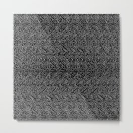 0023 (magic eye concentric squares remix) v2 Metal Print