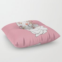 Never Let Me Go Floor Pillow