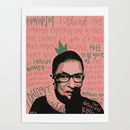 The Notorious RBG. Poster