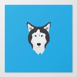 Lance Bright Blue Canvas Print