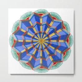 Star Power Mandala #1 Metal Print