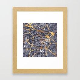 Kintsugi # 1 Framed Art Print