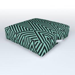 Triangle in Diamonds. Outdoor Floor Cushion