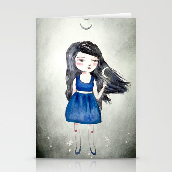 Night Sisters Stationery Cards