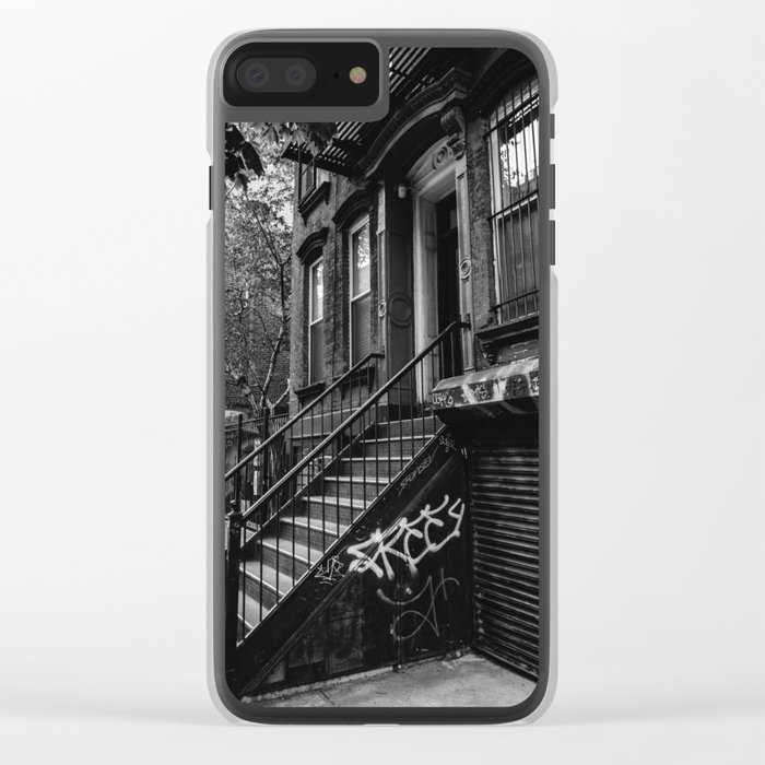 East Village VII Clear iPhone Case