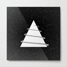 Abstraction 021 - Minimal Geometric Triangle Metal Print