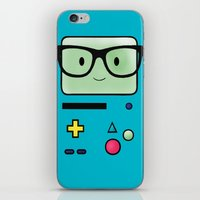 bmo iPhone & iPod Skins featuring BMO  by Diore-Château