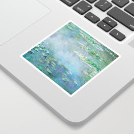 Monet Water Lilies / Nymphéas 1906 Sticker