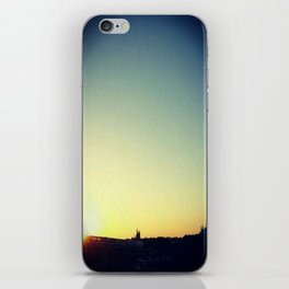 Monorail at Sunset iPhone Skin