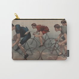 Vintage Cyclist Race Illustration (1896) Carry-All Pouch
