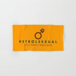 PETROLSEXUAL v7 HQvector Hand & Bath Towel