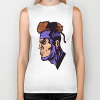 xmen Biker Tanks featuring x23 by jason st paul