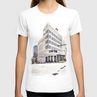 theater T-shirts featuring Historic Tacoma Theater by Vorona Photography