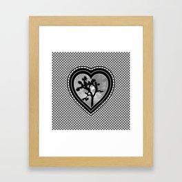 Joshua Tree Pillow Framed Art Print