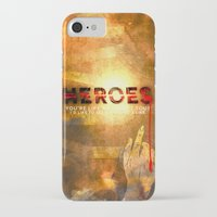 heroes iPhone & iPod Cases featuring HEROES by Michael Scott Murphy