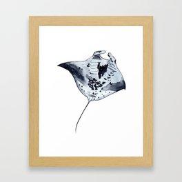MANTARAY Framed Art Print