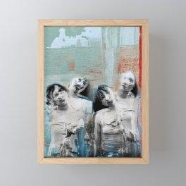 Four shades Framed Mini Art Print