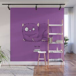 Purr Claw Wall Mural
