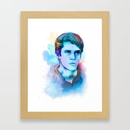 teen wolf -- scott mccall Framed Art Print