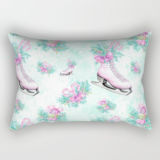 Figure Skating #9 Rectangular Pillow