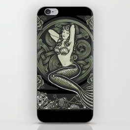 Vintage Classic Mermaid Pinup iPhone Skin