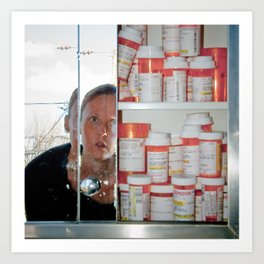 addiction: fear #2 Art Print