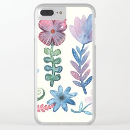 Enchanted Meadow Clear iPhone Case