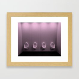 Urinal Framed Art Print
