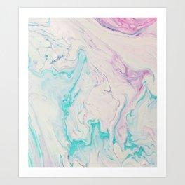 Marble No. 14 Art Print