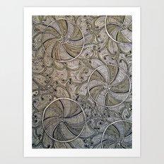 Cirquital Opus Art Print