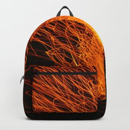 Golden Firework Backpack