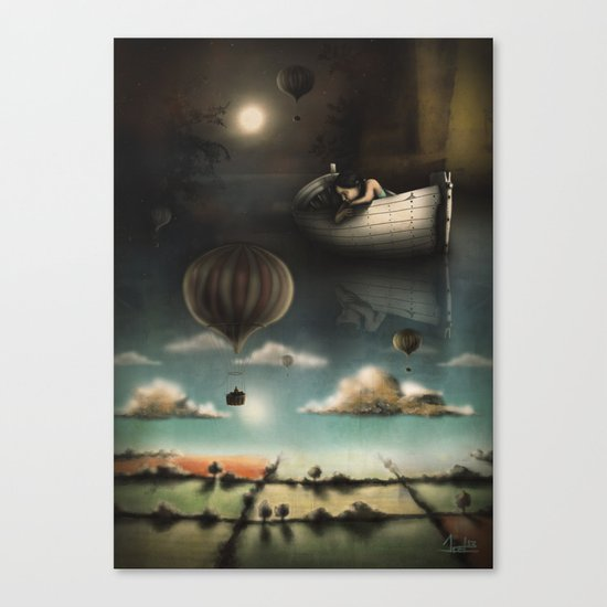 Above, Below, & Beyond Canvas Print