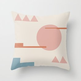 Geometric Abstract IV Throw Pillow