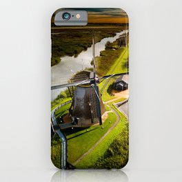 Historic Windmills from Holland iPhone Case