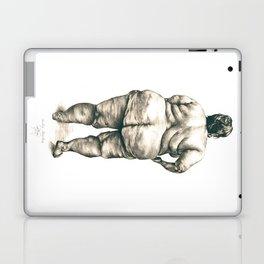 mujer en la ducha Laptop & iPad Skin