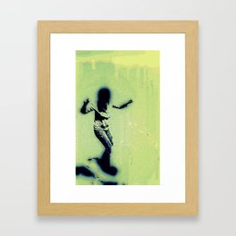Baile Framed Art Print