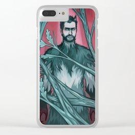 Wolf Derek Clear iPhone Case