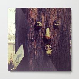Mischievous Tree  Metal Print