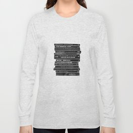 Mono book stack 1 Long Sleeve T-shirt