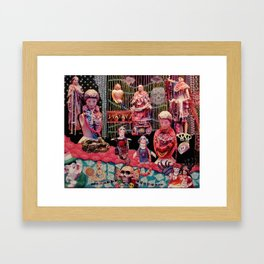 Beads of Paradise Shop NYC Framed Art Print