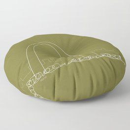 St. Louis by Friztin Floor Pillow