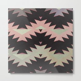navajo triangles Metal Print