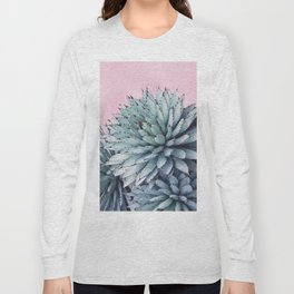 Pink Crush Succulent I Long Sleeve T-shirt