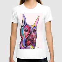 doberman T-shirts featuring Doberman by EloiseArt