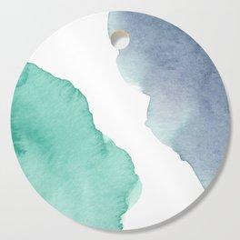 Watercolor Drops Cutting Board