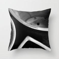 Glazed clay flower pots Throw Pillow