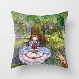 Chapter Twelve - Alice's Evidence Throw Pillow