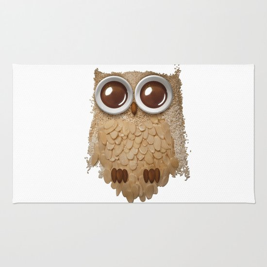 Owl Collage #6 Rug